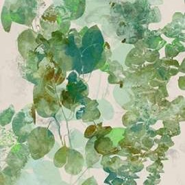 Watercolor Eucalyptus II Digital Print by Goldberger, Jennifer,Impressionism