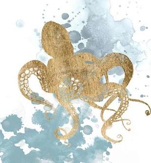 Gilded Splash I Digital Print by Popp, Grace,Decorative