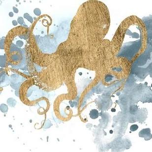 Gilded Splash II Digital Print by Popp, Grace,Decorative