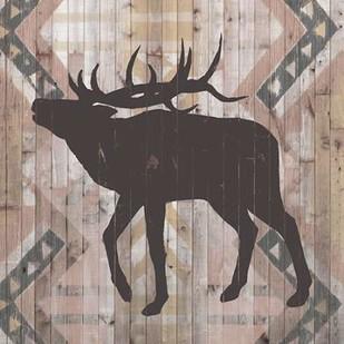 Southwest Lodge Animals I Digital Print by Vision Studio,Decorative