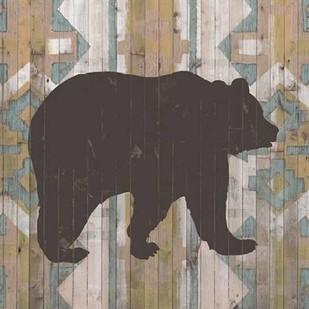 Southwest Lodge Animals III Digital Print by Vision Studio,Decorative