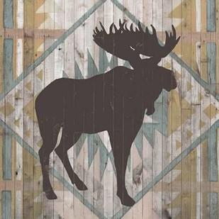 Southwest Lodge Animals IV Digital Print by Vision Studio,Decorative