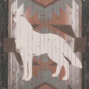Southwest Lodge Silhouette II Digital Print by Vision Studio,Decorative