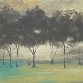 Soft Grove I Digital Print by Goldberger, Jennifer,Impressionism
