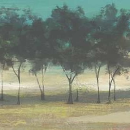 Soft Grove II Digital Print by Goldberger, Jennifer,Impressionism