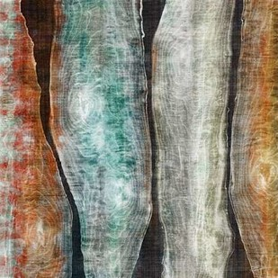Painted Live Edge II Digital Print by Butler, John,Abstract