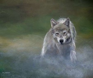 Misty Wild I Digital Print by Lynnsy, B.,Realism