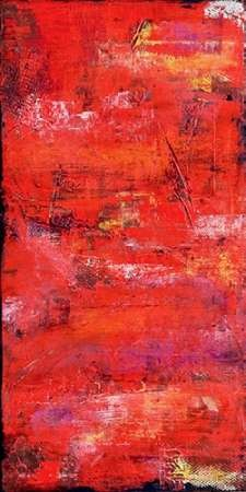 Red Door I Digital Print by Ashley, Erin,Abstract