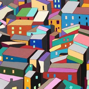 Rooftops I Digital Print by Galapon, Nikki,Decorative