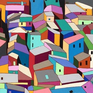 Rooftops II Digital Print by Galapon, Nikki,Decorative