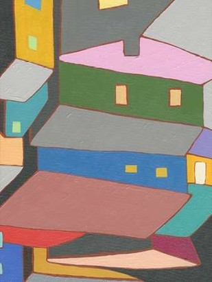 Rooftops in Color IV Digital Print by Galapon, Nikki,Expressionism
