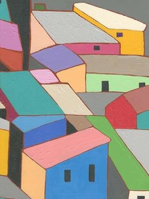 Rooftops in Color VII Digital Print by Galapon, Nikki,Expressionism