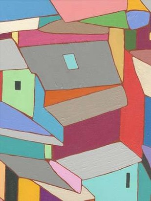 Rooftops in Color XI Digital Print by Galapon, Nikki,Expressionism