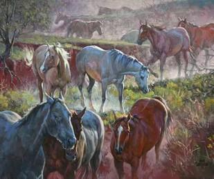 Greener Pastures Digital Print by Sorenson, Jack,Realism