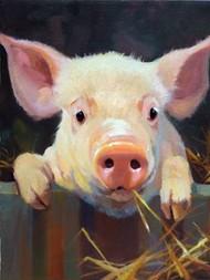 Farm Club I Digital Print by Hawley, Carolyne,Realism