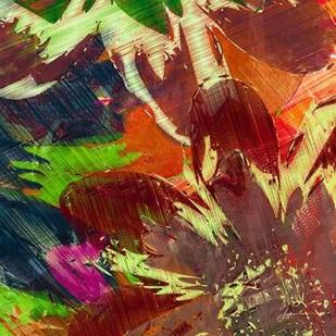 Floragraph IV Digital Print by Burghardt, James,Abstract