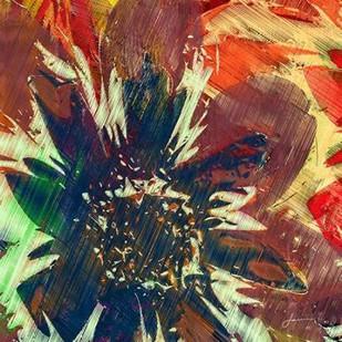 Floragraph V Digital Print by Burghardt, James,Abstract