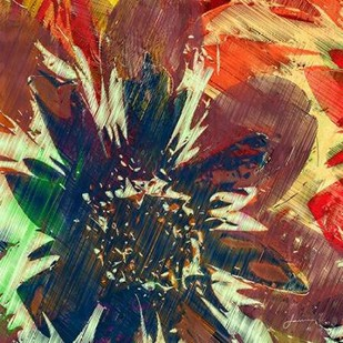 Floragraph V Digital Print by Burghardt, James,Abstract