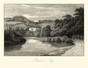 View of Beaumont Lodge Digital Print by Hakewill, James,Illustration