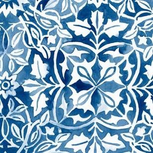 Watercolor Indigo I Digital Print by Vess, June Erica,Decorative