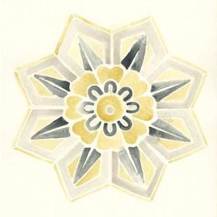 Modern Medallions III Digital Print by Vess, June Erica,Decorative