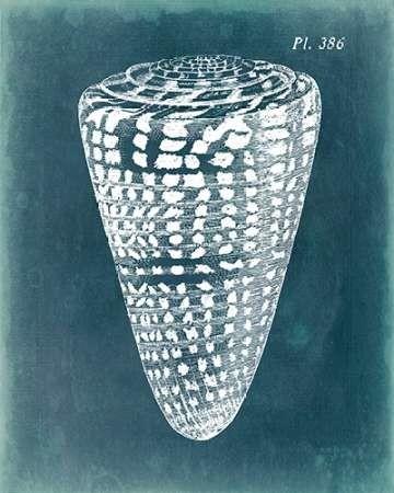 Azure Shell I Digital Print by Vision Studio,Impressionism