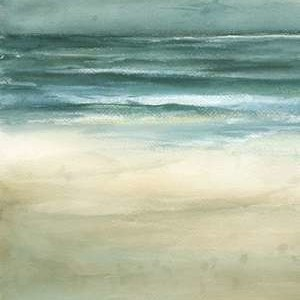 Tranquil Sea I Digital Print by Goldberger, Jennifer,Impressionism