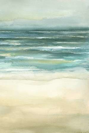 Tranquil Sea III Digital Print by Goldberger, Jennifer,Impressionism