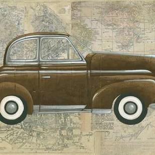 Tour by Car I Digital Print by Zarris, Chariklia,Decorative