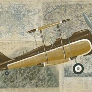 Tour by Plane II Digital Print by Zarris, Chariklia,Decorative
