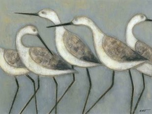 Shore Birds I Print By Wyatt Jr., Norman
