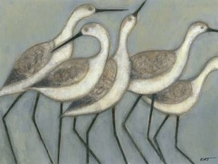 Shore Birds II Print By Wyatt Jr., Norman