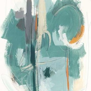 Rhythm Rhapsody I Digital Print by Vess, June Erica,Abstract
