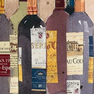 Red Wine Tasting II Digital Print by Dixon, Samuel,Decorative