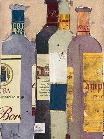 Red Wine Tasting III Digital Print by Dixon, Samuel,Decorative