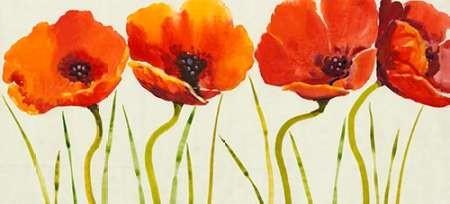 Row of Tulips II Digital Print by Otoole, Tim,Impressionism