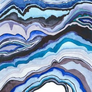 Quartz Lore II Digital Print by Popp, Grace,Abstract