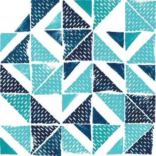 Beryl Block Print I Digital Print by Popp, Grace,Abstract