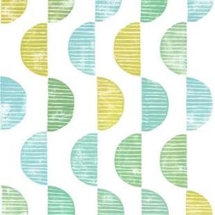 Semi Circle Block Print II Digital Print by Popp, Grace,Decorative