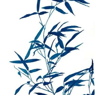 Indigo Botanica I Digital Print by McCavitt, Naomi,Decorative
