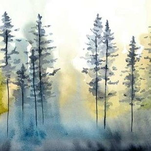 Shadow Forest I Digital Print by Zarris, Chariklia,Impressionism