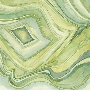 Pastel Agate IV Digital Print by Meagher, Megan,Abstract