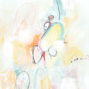 Quarter Note II Digital Print by Vess, June Erica,Abstract
