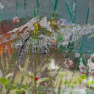 Mountain Wildflowers II Digital Print by Jasper, Sisa,Abstract
