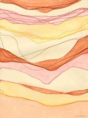 Canyon Cascade I Digital Print by Lam, Vanna,Abstract