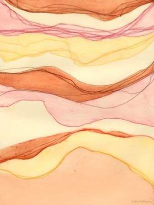 Canyon Cascade II Digital Print by Lam, Vanna,Abstract