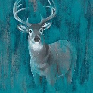 Contemporary White-Tail I Digital Print by Popp, Grace,Impressionism