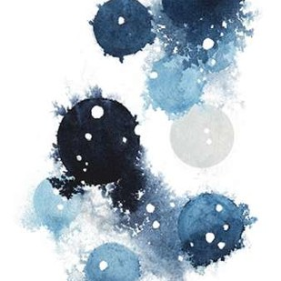 Blue Galaxy I Digital Print by Popp, Grace,Abstract