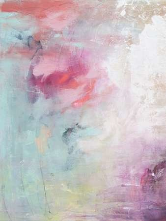 Pastel Terrain I By Artist Contacessi Julia Abstract