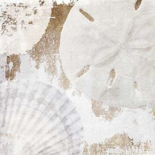 White Shells I Digital Print by Orlov, Irena,Impressionism